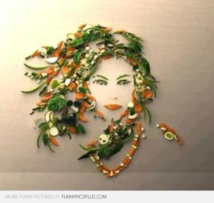 beautiful-food-art-girl