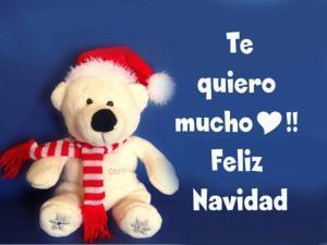 postal feliz navidad te quiero mucho