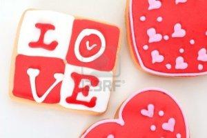 12002589-valentine-love-cookie-in-rosso-e-bianco