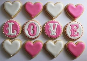 Love & Heart Cookies