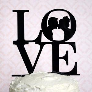 love-wedding-cake-topper