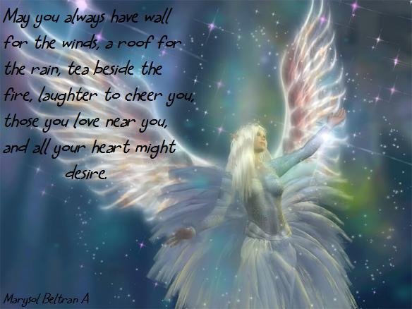 Imagenes de angeles con frases lindas - Imagui