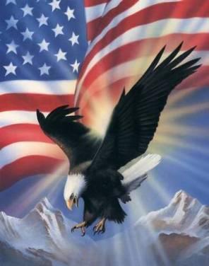 AmericanEagleandFlag