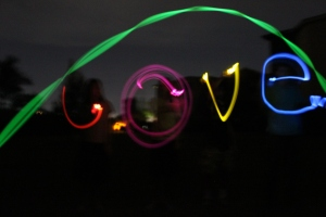 Glow-sticks-love