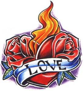 rose-heart-tattoos