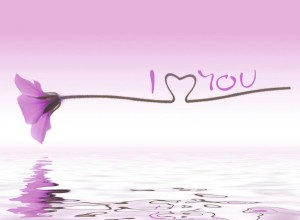 water-reflection-i-love-you