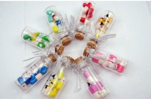 10pcs-lot-with-pill-Love-Capsule-Letters-love-Bottle-Lucky-bottle-Drift-bottle-Wishing-bottle-D