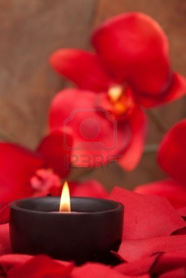 6797753-candle-surrounded-with-red-rose-petals-and-orchid