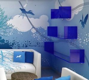 Blue-Sky-Theme-Living-Room-Wallpaper-Interior-Decoration-527x477