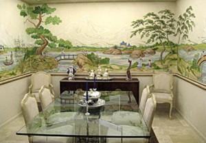 Elegant-Japanese-Dinning-Room-Murals-Concept-527x368