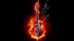 Guitar-Wallpaper-Fire-HD