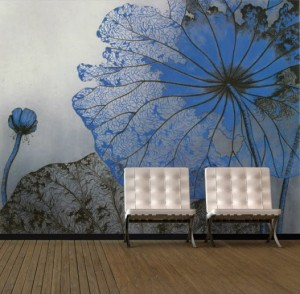 Living-Room-Interior-Designs-with-Flowers-Painting-Murals-Ideas-527x518