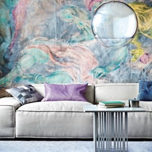 Living-Room-with-Wallpaper-Murals-Abstract-527x527