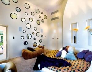 pared-decoracion-espejos-redondos
