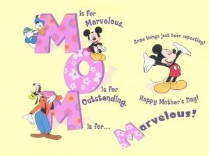 Happy-Mothers-Day-Cartoon-Desktop Wallpaper