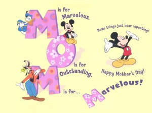 Happy-Mothers-Day-Cartoon-Desktop Wallpaper